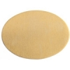 Metal Blank 24ga Brass Oval 25x18mm No Hole